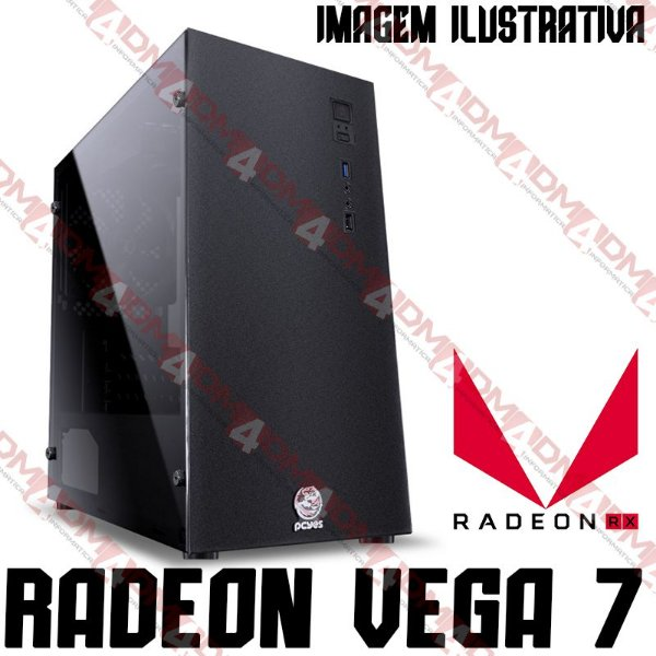 PC Gamer MOBA BOX AMD Ryzen 5 5600G, 16GB DDR4, SSD M.2 NVME 500GB, APU RADEON VEGA 7