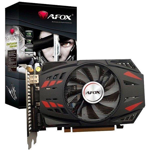 PLACA DE VÍDEO GPU NVIDIA GEFORCE GTX 750TI 2GB GDDR5 - 128 BITS AFOX AF750TI-2048D5H3-V2