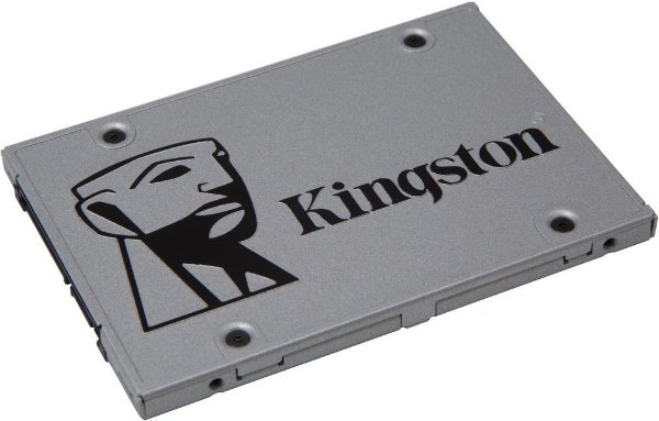 SSD Kingston 2.5´ 240GB UV400 SATA III Leituras: 550MB/s e Gravações: 490MB/s - SUV400S37/240G