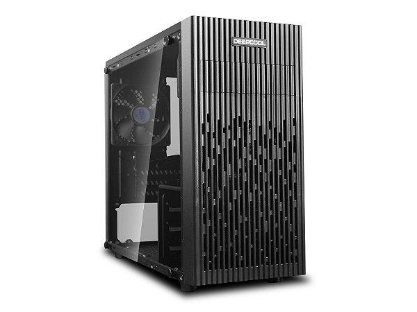 Gabinete Gamer Deepcool Matrexx 30, Mini Tower, com FAN, Lateral em Vidro - DP-MATX-MATREXX30