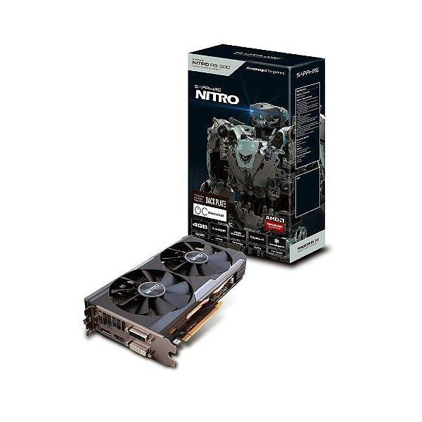 Placa de Vídeo AMD Radeon R9 380 Nitro 4gb DDR5 - 256 Bits Sapphire Dual-X OC - 11242-13-20G