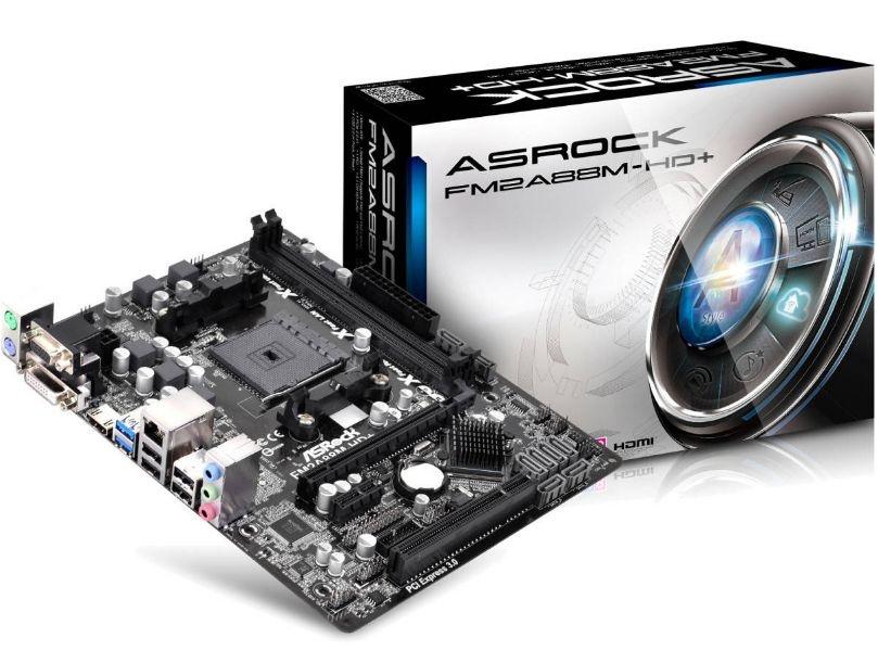 Placa Mãe ASrock P/ AMD FM2A88M-HD+ Fm2+