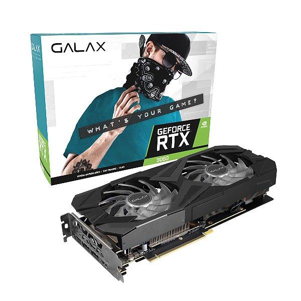 Placa de Vídeo GPU GEFORCE RTX 3060 (1-Click OC) RGB 12GB GDDR6 - 192 BITS GALAX - 36NOL7MD2NEX