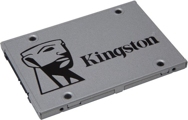 SSD Kingston 2.5´ 480GB UV400 SATA III Leituras: 550MB/s e Gravações: 500MB/s - SUV400S37/480G