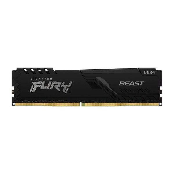 Memória P/ Desktop 8gb DDR4 - 3200 Mhz Kingston HyperX Fury Beast - KF432C16BB/8 (1X8gb)