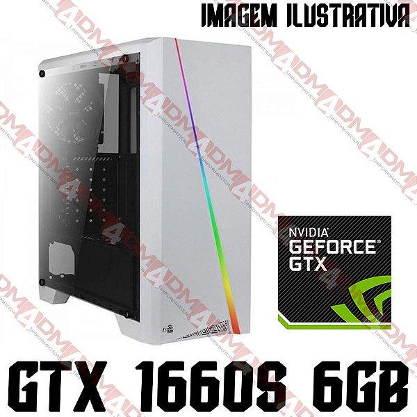 (Recomendado) PC Gamer AMD Ryzen 5 3600XT, 16GB DDR4, SSD NVME 512GB, GPU GEFORCE GTX 1660 SUPER 6GB