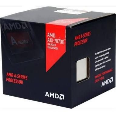 Processador AMD A10 - 7870K 4.1 Ghz C/ 4Mb Cache Black Edition QuadCore C/ R7 Series FM2+