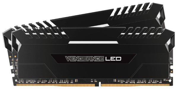 Kit Memória DDR4 16gb 3000 Mhz Corsair Vengeance LED (2X8gb)
