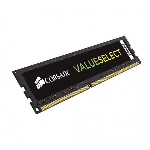 Memória 8gb DDR4 2133 Mhz CL15 Corsair Value Select - CMV8GX4M1A2133C15