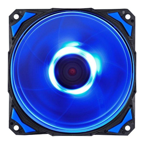 Cooler FAN PcYes Fury F5 120mm 2200 RPM Led Azul F5120LDAZ