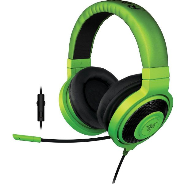 Headset Razer Kraken Pro 2015 com Microfone e Controle de Volume Green