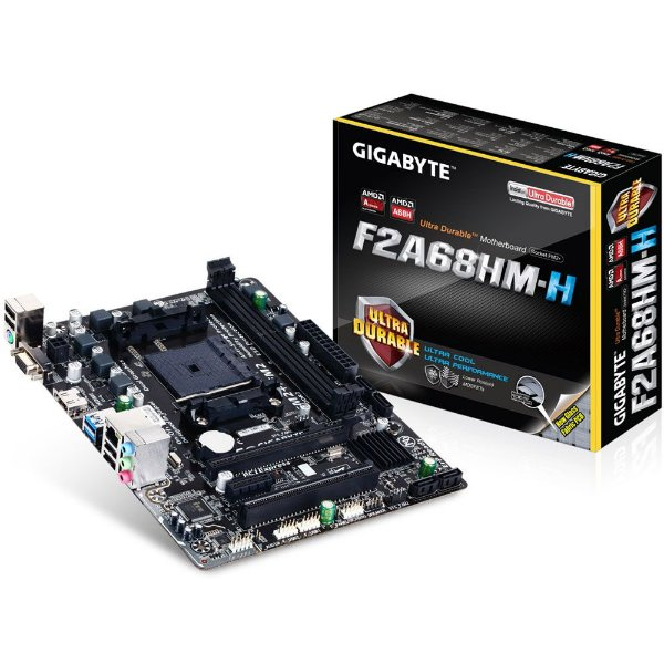 Placa Mãe Gigabyte F2A68HM-H P/ AMD FM2+
