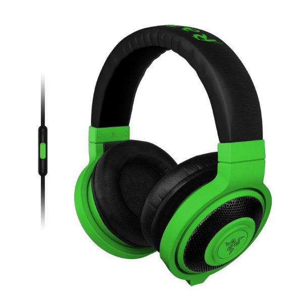 Headset Gamer Razer Kraken Neon Mobile Green