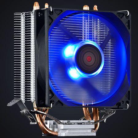 Cooler Para Processador Universal Intel e AMD Fan 80 MM PCYES Zero K Z2 LED Azul ACZK292LDA