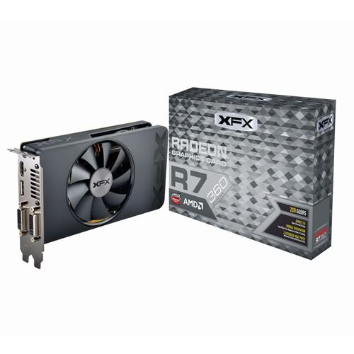 Placa de Vídeo AMD Radeon R7 360 2gb DDR5 - 128 Bits XFX R7-360P-2SF5