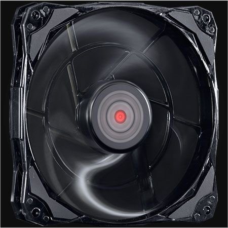 Cooler FAN PcYes Fury F3 120mm 1300 RPM Preto Slim F3120SL