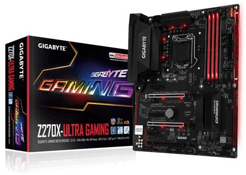 Placa Mãe Gigabyte Z270X-Ultra Gaming P/ Intel LGA 1151