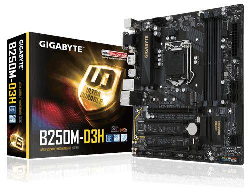 Placa Mãe Gigabyte B250M-D3H P/ Intel Socket LGA 1151