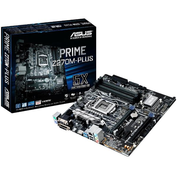 Placa Mãe ASUS Prime Z270M-Plus DDR4 Socket LGA 1151