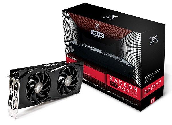 Placa de Vídeo AMD Radeon RX 480 GTR 8gb DDR5 - 256 BITS XFX RX-480P8DBA6