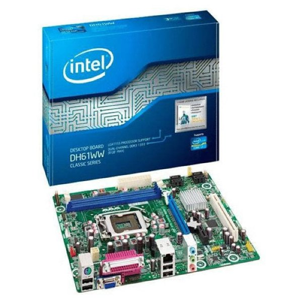 Placa Mãe Intel DH61WW P/ Intel Socket LGA 1155 OEM