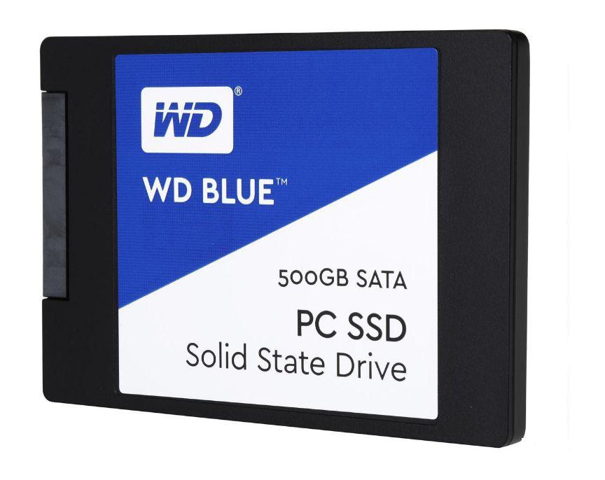 """SSD 500gb Sata 6gbs 2.5"""" Western Digital Blue WDS500G1B0A-00H9H0"""