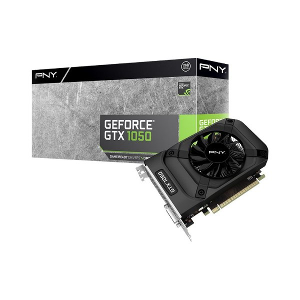 Placa de Vídeo Geforce GTX 1050 - 2gb GDDR5 - 128 Bits PNY VCGGTX10502PB