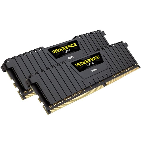 Memória Corsair Vengeance LPX 16GB(2x8GB) 2133Mhz DDR4 CL13 - CMK16GX4M2A2133C13