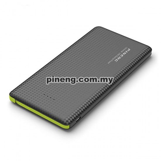 Bateria Externa Portátil Power Bank Pineng 10000mah Pn-951 Preto