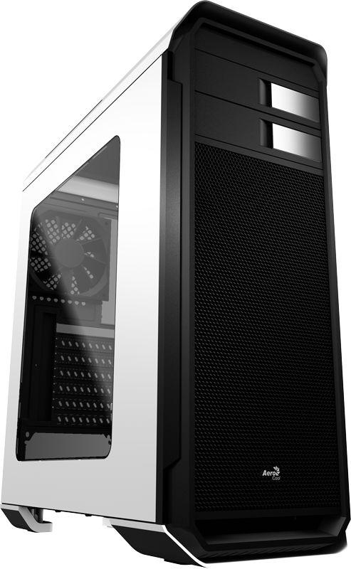 Gabinete ATX AeroCool Gamer AERO-500 Acrílico Lateral e USB 3.0 Frontal  EN55583 Branco