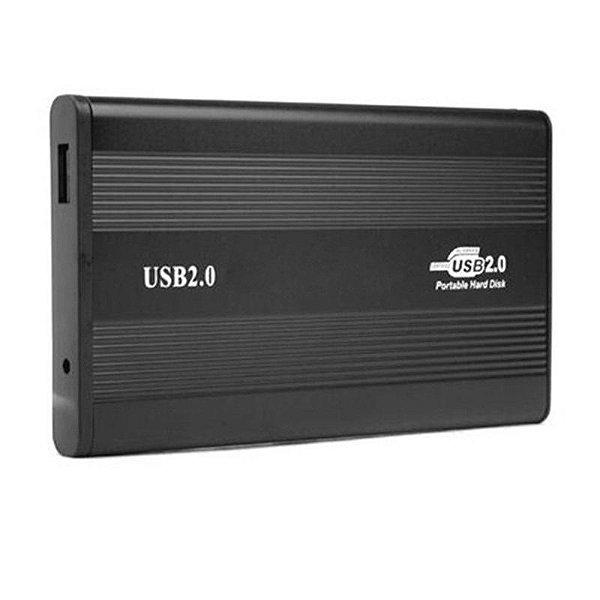 Case para Transformar seu HD 2.5 em HD Externo USB 2.0