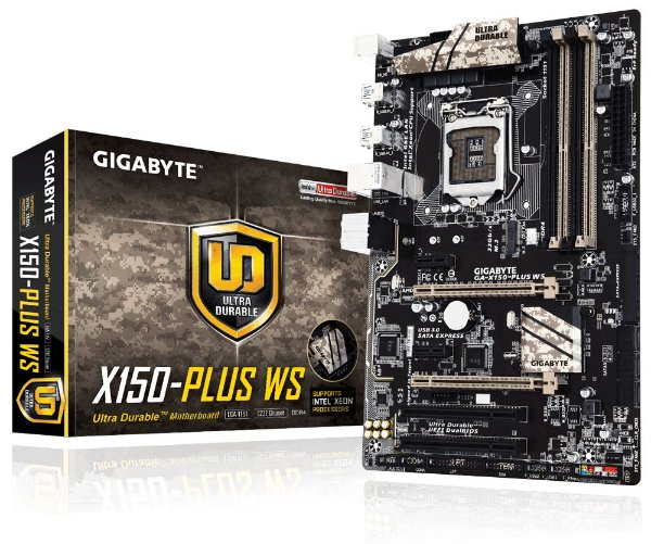 Placa Mãe Gigabyte GA-X150-PLUS WS P/ Intel Socket LGA 1151