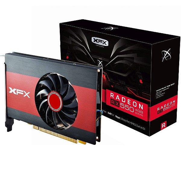 Placa de Vídeo AMD Radeon RX 550 2gb DDR5 - 128 Bits XFX 550P2TFG5