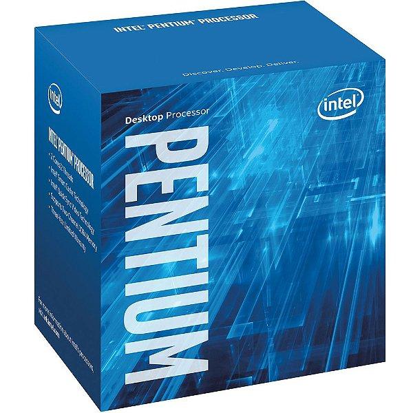 Processador Intel Pentium Dual Core G4560 Kaby Lake 3.5 Ghz C/ 3Mb Cache Socket LGA 1151 - BX80677G4560