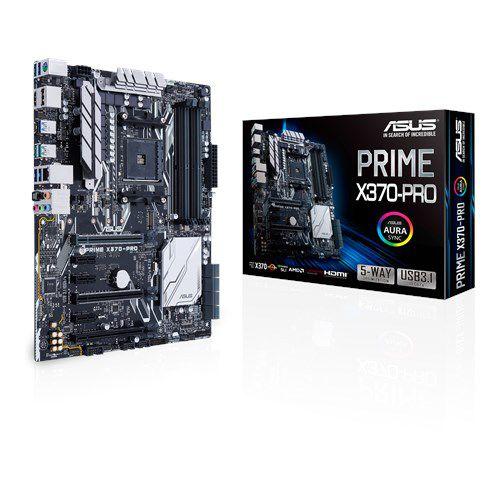 Placa Mãe ASUS PRIME X370-PRO USB 3.1 P/ AMD Socket AM4