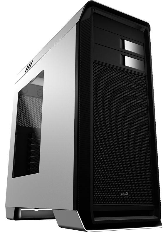 Gabinete ATX Gamer AEROCOOL C/ Tampa Lateral de Acrílico e USB 3.0 Frontal AERO-1000 BRANCO EN55309