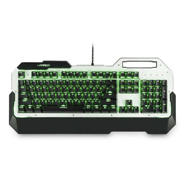 Teclado Warrior Gamer Mecânico com Led Single Color - TC217