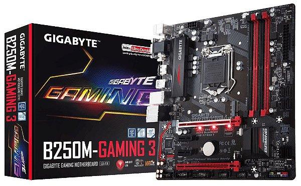 Placa Mãe Gigabyte B250M-Gaming 3 Socket LGA 1151