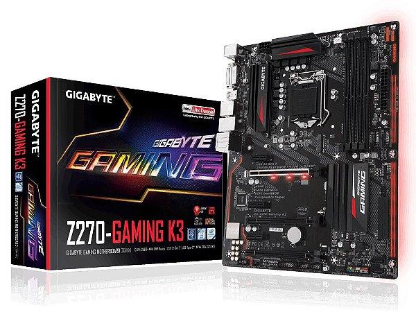 Placa Mãe Gigabyte Z270 Gaming K3 P/ Intel Socket LGA 1151