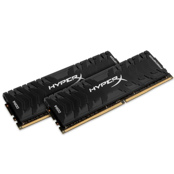 Memória Kingston HyperX Predator 16GB (2x8GB) 3333Mhz DDR4 CL16 - HX433C16PB3K2/16