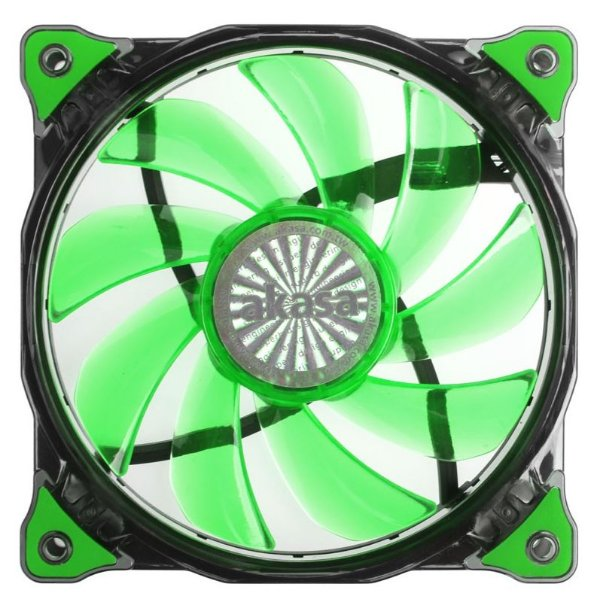 Cooler Fan P/ Gabinete 120MM C/ LED Verde 1200 RPM AKASA Vegas AK-FN091-GN