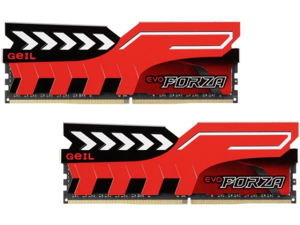 Memória 32gb DDR4 CL16 2400 Mhz Geil Forza EVO (2X16gb) GFR432GB2400C16DC