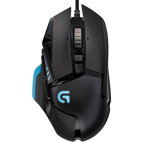 Mouse Gamer Logitech G502 Proteus Core 12000DPI Led Azul