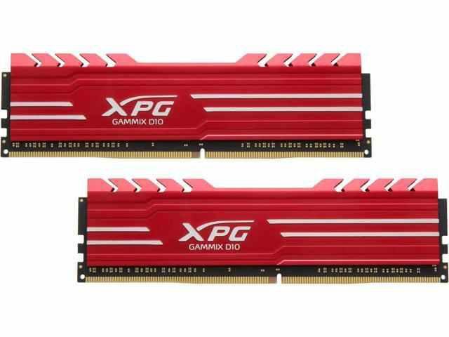 Memória 16GB DDR4 CL16 - 3000 Mhz PC4-24000 (2X8GB) ADATA XPG Gammix D10