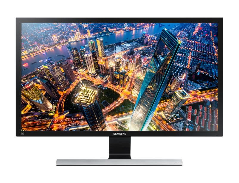 Monitor LED 28 Samsung Ultra HD 4K HDMI Preto - LU28E590DS/ZD