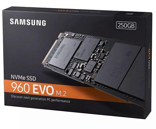 SSD - M.2 (2280 / PCIe NVMe) - 250GB - Samsung 960 Evo - MZ-V6E250BW