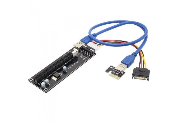 Kitbon USB 3.0 PCI-E 1X a 16X Riser Adapter Card Extender Cable