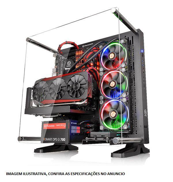 PC Gamer Intel Core I7 Kaby Lake 7740X, 16GB DDR4, SSD M2 250GB, HD 4TB, Geforce GTX 1070TI OC 8GB