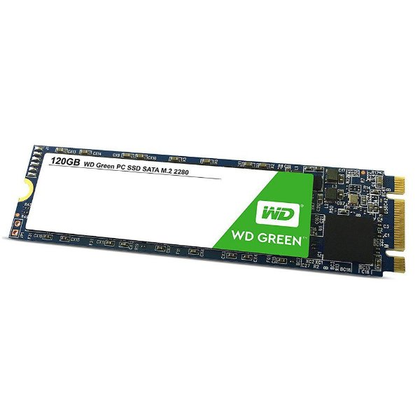 SSD WESTERN DIGITAL Green M.2 2280 120GB Leituras: 545MB/s - WDS120G2G0B