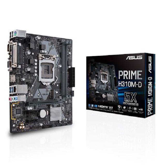 Placa Mãe ASUS Chipset Intel H310M-D Socket LGA 1151 (8º Geração)